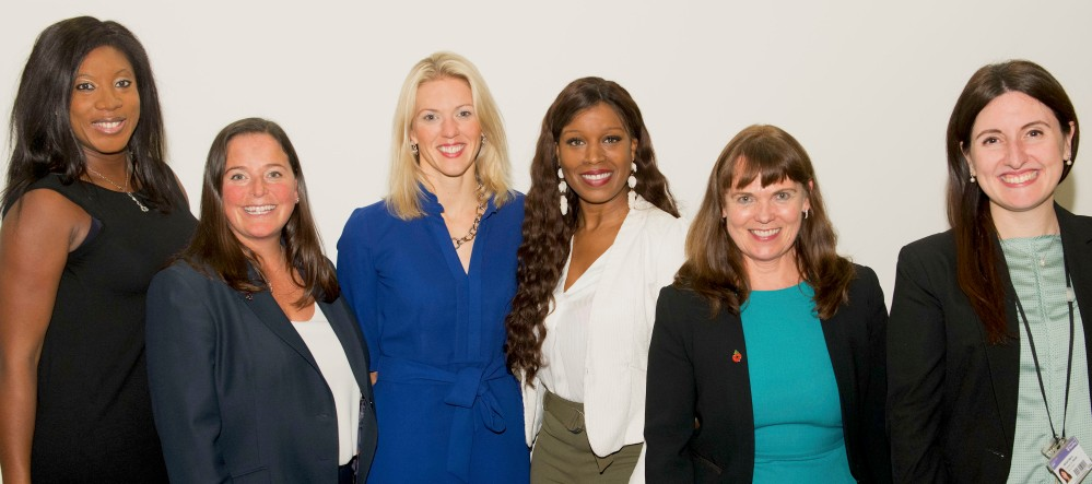 WIB panel and organisers